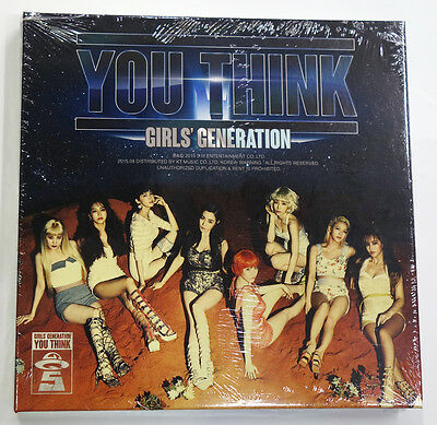 SNSD GIRLS' GENERATION - You Think (Vol. 5) CD+Photocard+Poster+Extra Gift K-POP