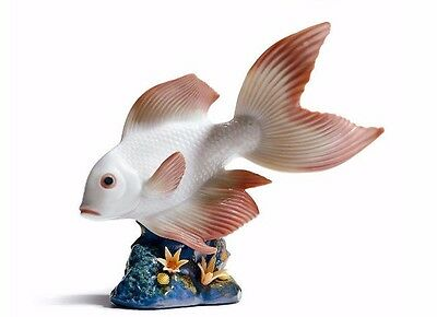 Lladro 6860 Underwater Calm fish on coral reef, perfect w/box, Retired and Rare