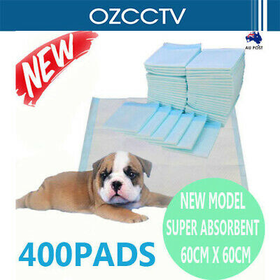 400pcs New 60x60cm Puppy Pet Dog Indoor Cat Toilet Training Pads Super Absorbent