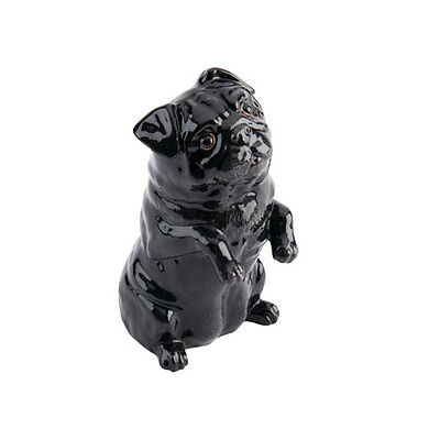 John Beswick-Pampered Pooches Black Pug - Jbpp2Blk - Boxed - New