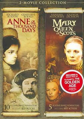 Anne Of The Thousand Days/mary, Queen Of Scots New Region 1 Dvd
