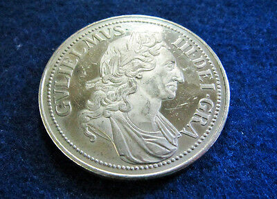 1695 dated England William III Proof Medal - Free U S Shipping