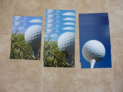 Lot of 12 Golf Ball Tee Stock Photos Autographs Celebrity 8x10 Color Pictures