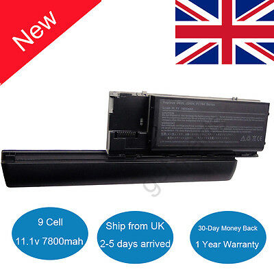 9 Cell Battery for Dell Latitude D620 D630 D631 D830N Precision M2300 PC764 UK