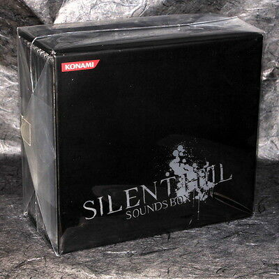 Silent Hill Sounds 8 CD Box 1 DVD Original Game Soundtracks Limited Edition NEW