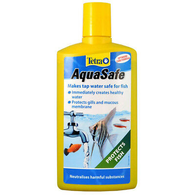 Tetra Aquasafe Water Conditioner 500ml Tap Water Dechlorinator