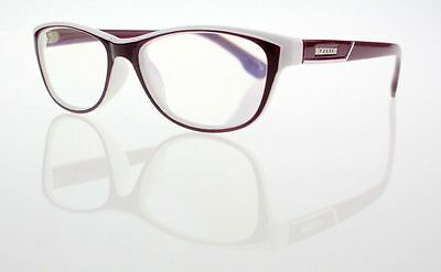 Purple & White Cat Eye Full Frame Women's Reading Glasses Readers +1.0 ~ +4.0