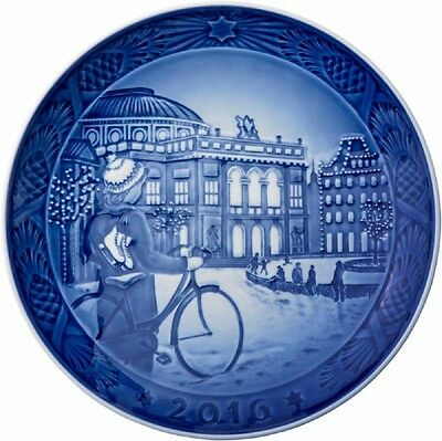 ROYAL COPENHAGEN 2016 - 2015 - 2014 Christmas Plates New in Box - You get all 3!