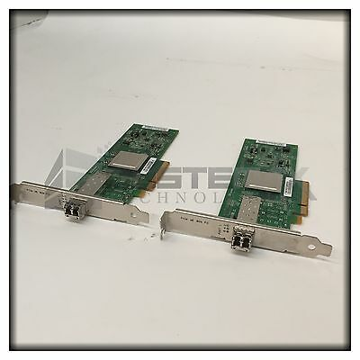 2x Dell Qlogic QLE2560 8GB Fibre-Channel Host Bus Adapter