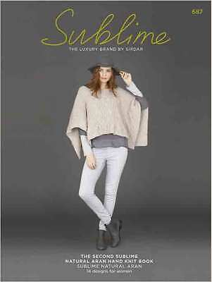 The Second Sublime Natural Aran Hand Knit Book  687