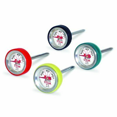 CDN Pack Of 4 Steak Thermometers (Rare, Medium & Well Done)