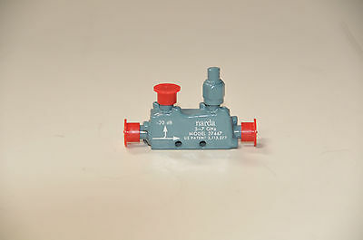 Narda 27447 Directional Coupler -20dB 5 to 7GHz SMA(F)