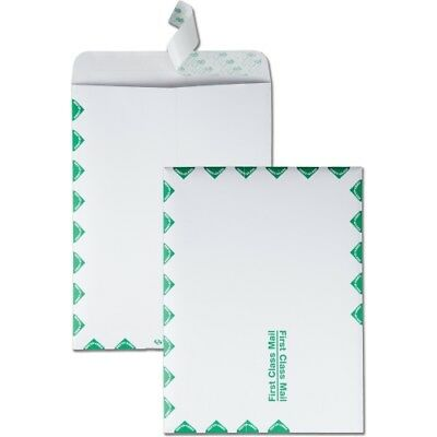 Quality Park Redi-Strip Catalog Envelope 9 X 12 First Class Border White 100/box