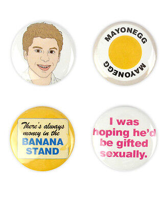 George Michael Badges! Arrested Development buttons michael cera, mayonegg