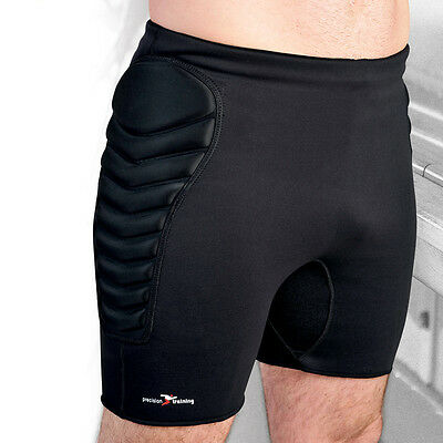 Precision Training Neoprene Padded Goalkeeping Shorts Short Pant