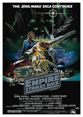 Star Wars: The Empire Strikes Back (1980) V5 - A1/A2 Poster **SEE OFFER**