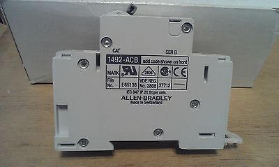 ALLEN-BRADLEY AUXILIARY CONTACT 1492-ACB H1 Used