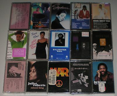 15 New Music Cassettes: All New & Different! Soul, R&B Music! #C