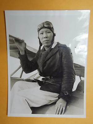 "US 1932 China ""Miss Lindbergh-Leah Hing"" Real Photo Flying Tiger Member Rare"