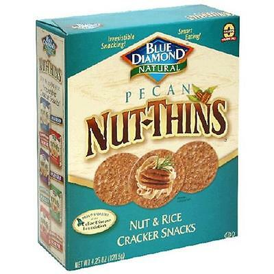 Blue Diamond 20537 Pecan Nut Thin Crackers
