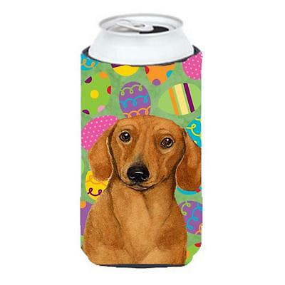 Carolines Treasures Dachshund Easter Eggtravaganza Tall Boy Hugger 22 To 24 oz.