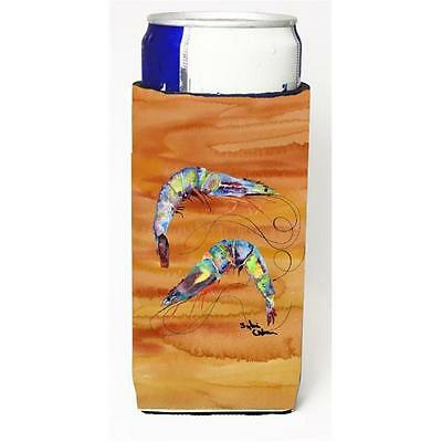 Carolines Treasures 8145MUK Shrimp Spicy Hot Michelob Ultra s for slim cans