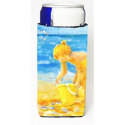 Little Girl At The Beach Michelob Ultra s For Slim Cans 12 oz.