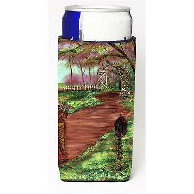Carolines Treasures Fancy Lady on a Stroll Michelob Ultra s for slim cans