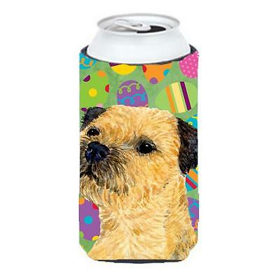 Border Terrier Easter Eggtravaganza Tall Boy Hugger 22 To 24 oz.