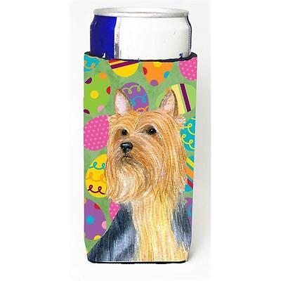 Silky Terrier Easter Eggtravaganza Michelob Ultra s For Slim Cans 12 oz.
