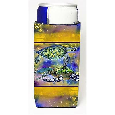 Carolines Treasures Sea Turtles Loggerhead Michelob Ultra s For Slim Cans 12 oz.