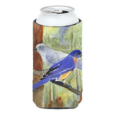 Carolines Treasures Bird Mountain Bluebird Tall Boy Hugger 22 To 24 oz.