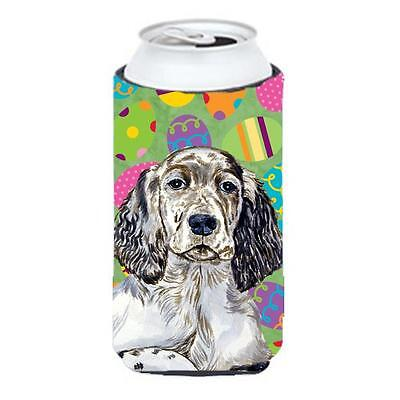 English Setter Easter Eggtravaganza Tall Boy Hugger 22 To 24 oz.