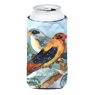 Carolines Treasures KR9017TBC Bird Strawberry Finch Tall Boy Hugger 22 To 24 oz.