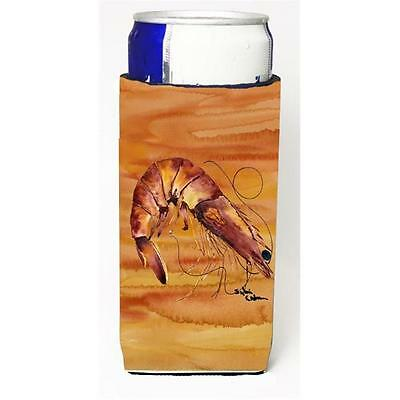 Carolines Treasures Cooked Shrimp Spicy Hot Michelob Ultra s for slim cans