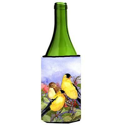 Carolines Treasures Bird American Goldfinch Wine Bottle Hugger 24 oz.