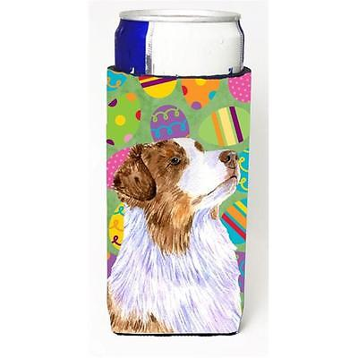 Australian Shepherd Easter Eggtravaganza Michelob Ultra s For Slim Cans 12 oz.
