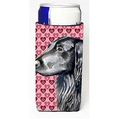 Flat Coated Retriever Hearts Love And Valentines Day Portrait Michelob Ultra ...
