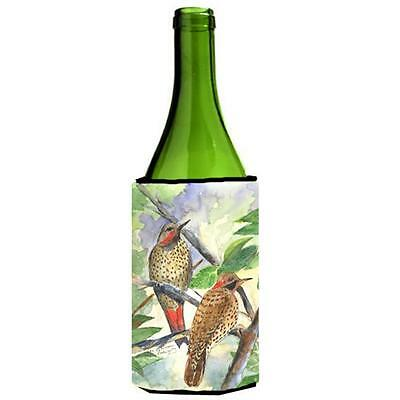 Carolines Treasures Bird Northern Flicker Yellowhammer Wine Bottle Hugger 24 oz.