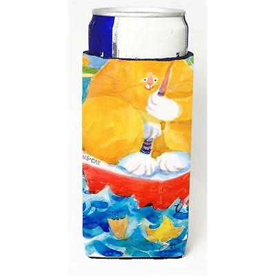 Big Orange Tabby Fishing Michelob Ultra s For Slim Cans 12 oz. • AUD 47.47