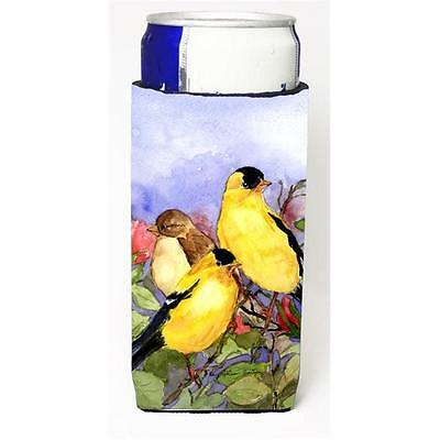 Bird American Goldfinch Michelob Ultra s For Slim Cans 12 oz.