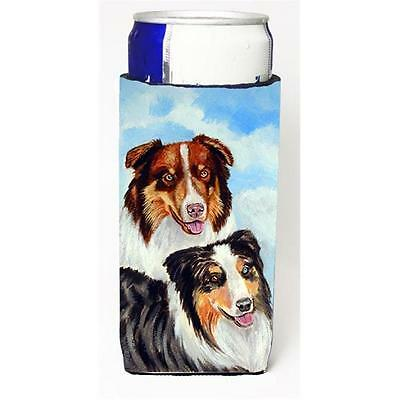 Australian Shepherd What A Pair Michelob Ultra s For Slim Cans 12 oz.