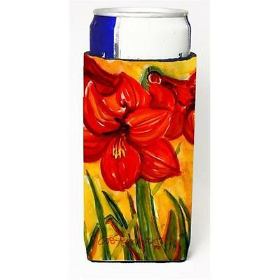 Carolines Treasures Flower Amaryllis Michelob Ultra s For Slim Cans 12 oz.