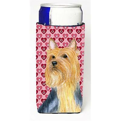 Silky Terrier Hearts Love And Valentines Day Portrait Michelob Ultra s For Sl...