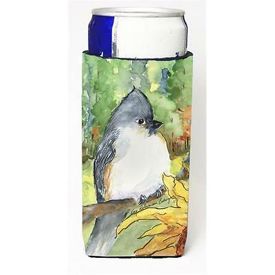 Carolines Treasures Bird Tufted Titmouse Michelob Ultra s For Slim Cans 12 oz.