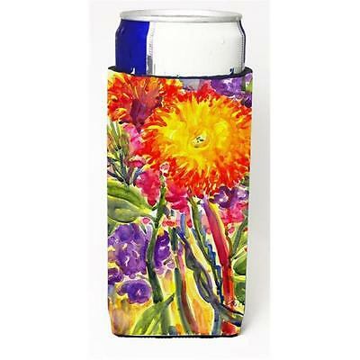 Carolines Treasures 6077MUK Flower Aster Michelob Ultra s For Slim Cans 12 oz.