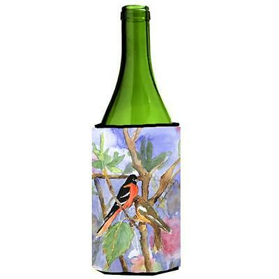 Carolines Treasures KR9026LITERK Bird Baltimore Oriole Wine Bottle Hugger 24 oz.