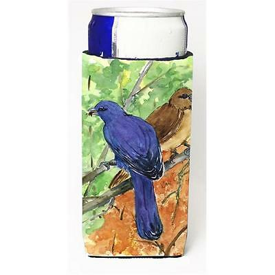 Carolines Treasures Bird Indigo Bunting Michelob Ultra s For Slim Cans 12 oz.