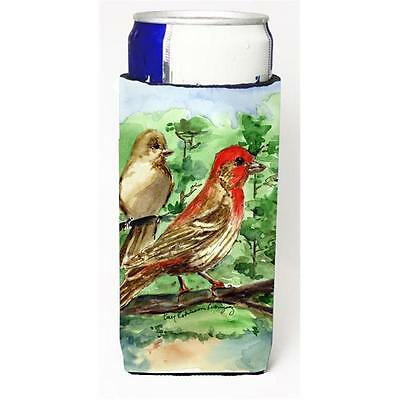 Carolines Treasures Bird House Finch Michelob Ultra s For Slim Cans 12 oz.