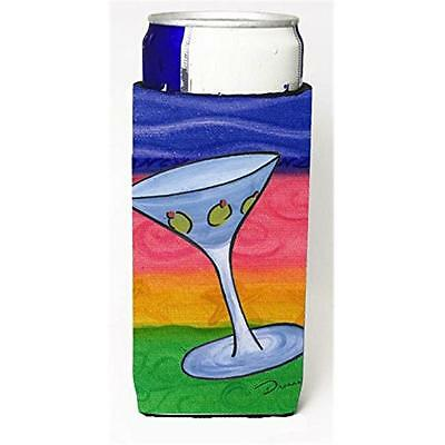 Carolines Treasures Martini Michelob Ultra bottle sleeves For Slim Cans 12 oz.